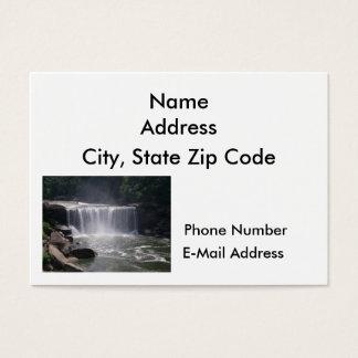 Cascading Waterfall Business Card