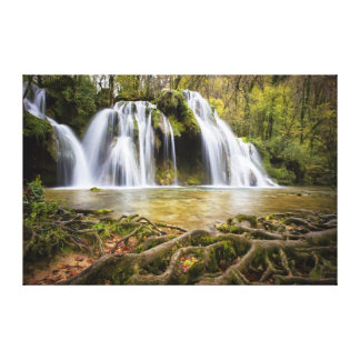 Cascading Waterfall Canvas Print