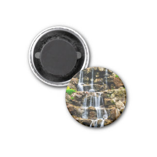 Cascading waterfall refrigerator magnets