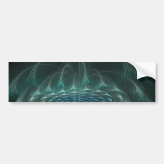 Cascading Wormhole Bumper Sticker