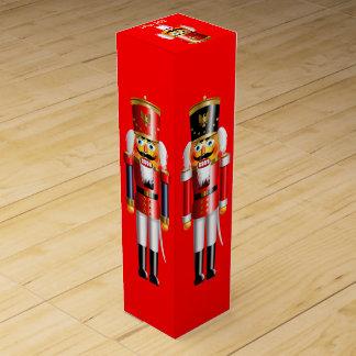 Cascanueces adaptables de Navidad Caja Para Botella De Vino