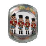 Cascanueces colorido retro del navidad frascos cristal