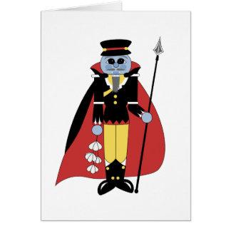 Cascanueces del guarda del vampiro tarjetas