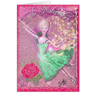 Cascanueces que vuela Ballerina-353 Felicitación