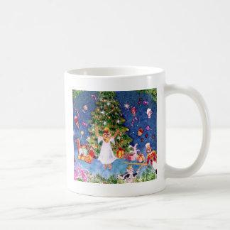 Cascanueces y el árbol taza de café