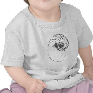 Cáscara 1 del nautilus camiseta