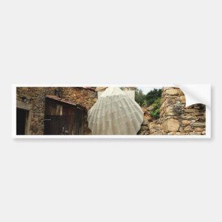 Cáscara de concha de peregrino gigante, EL Camino Pegatina Para Auto
