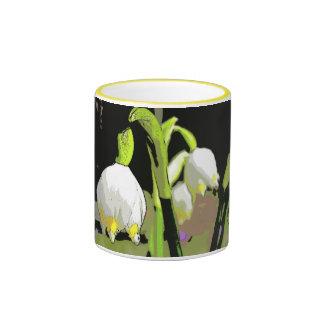 Cáscara de la primavera tazas de café