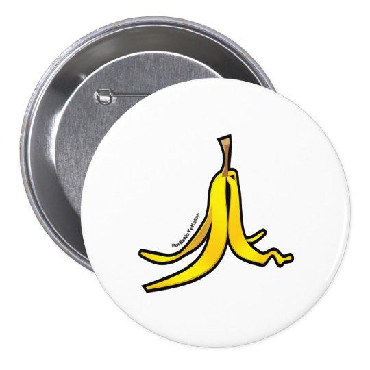 Cascara de platano pinback button