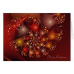 Cáscara del caracol - Felices Navidad Felicitación