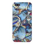Cáscaras azules abstractas del mar iPhone 5 coberturas