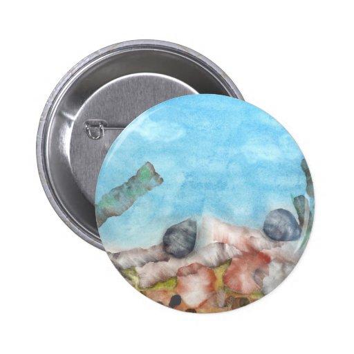 Cáscaras debajo del mar pin