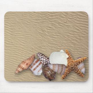 Cáscaras del mar - cojín de ratón tapetes de ratón