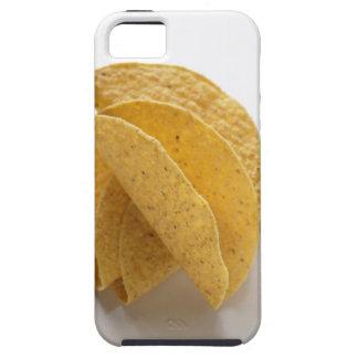 Cáscaras del Taco en el fondo blanco iPhone 5 Cobertura