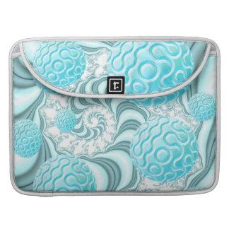 Cáscaras divinas del mar playa abstracta en paste funda para macbook pro