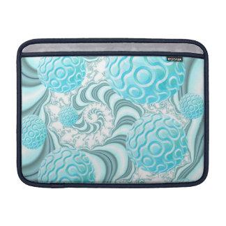 Cáscaras divinas del mar playa en colores pastel fundas para macbook air