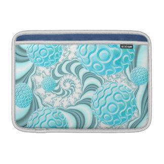Cáscaras divinas del mar playa en colores pastel fundas MacBook