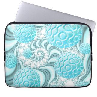 Cáscaras divinas del mar playa en colores pastel manga computadora