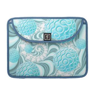 Cáscaras divinas del mar playa en colores pastel funda macbook pro