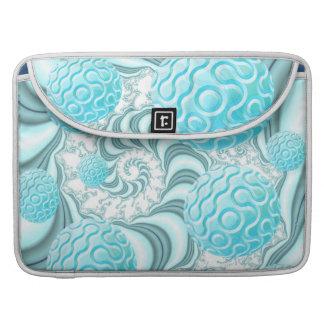 Cáscaras divinas del mar playa en colores pastel funda para macbooks