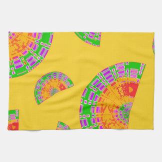 Cáscaras festivas toallas de cocina