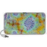 Cáscaras violetas de oro del mar, océano abstracto iPod altavoz