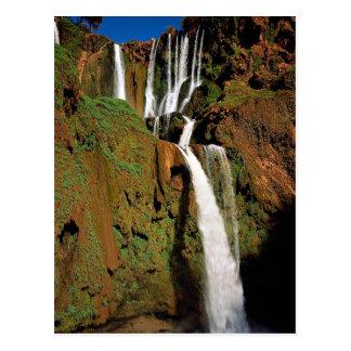 Cascase d'Ozoud, Morocco Post Card