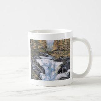 Cascata - óleo  (vendido) coffee mug