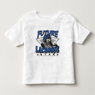 Casco azul de la estrella futura de LaCrosse Playera De Bebé