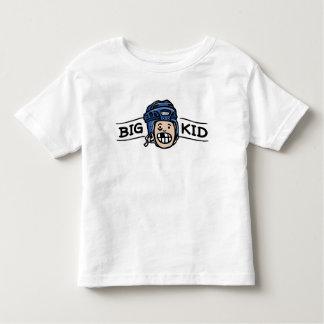 Casco azul del campo del hockey de hermano mayor playera de bebé