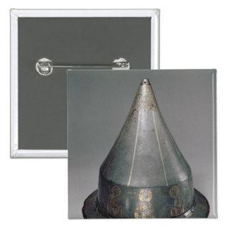 Casco con el Deesis Pin Cuadrada 5 Cm