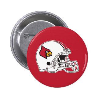 Casco de fútbol americano de Louisville Pin Redondo De 2 Pulgadas