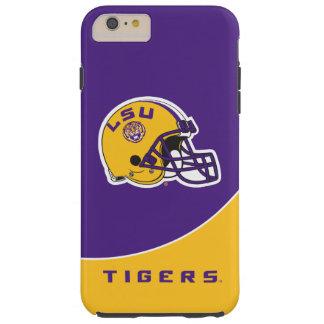 Casco de fútbol americano de LSU Funda Para iPhone 6 Plus Tough