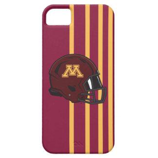Casco de fútbol americano de Minnesota M Funda Para iPhone 5 Barely There