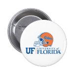 Casco de los cocodrilos de la Florida - dejado Pin Redondo 5 Cm