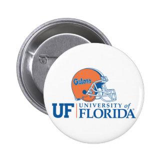 Casco de los cocodrilos de la Florida Pin Redondo 5 Cm
