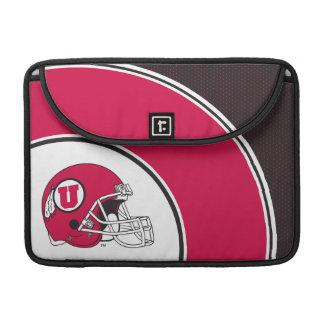 Casco de los Utes de Utah Fundas Para Macbooks