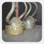 Casco de Viking Colcomanias Cuadradas
