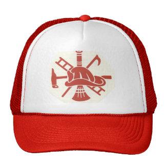 Casco del bombero gorras