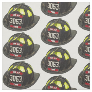 Casco del bombero telas