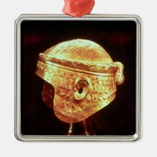 Casco del electro de rey Mes-Kalem-Cavar Adorno De Reyes