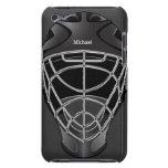 Casco del portero del hockey iPod touch carcasas