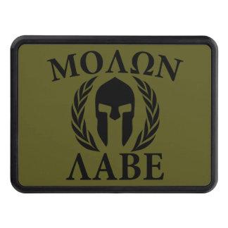Casco espartano de Molon Labe en el tirón Tapas De Remolque