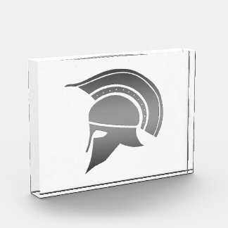 Casco espartano del griego clásico