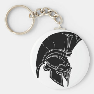 Casco espartano o trojan llavero personalizado