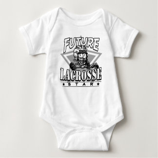 Casco futuro del blanco de la estrella de LaCrosse Body Para Bebé