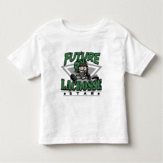 Casco futuro del verde de la estrella de LaCrosse Playera De Bebé