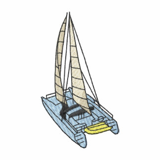 Casco gemelo polo bordado