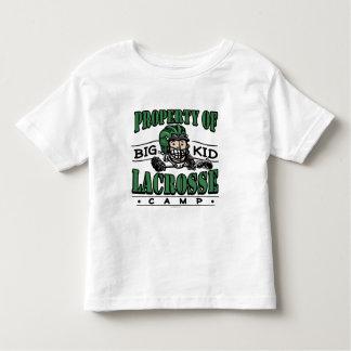 Casco grande del verde del campo de LaCrosse del Playera De Bebé