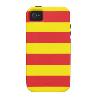 "Casco Iphone 4/4S Bandera Catalán ""Serenya "" iPhone 4/4S Carcasas"